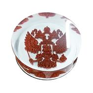 Фишки для нард из оргстекла с 3D рисунком герба
