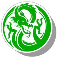 Фишки для нард из оргстекла Драконы #16