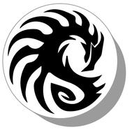 Фишки для нард из оргстекла Драконы #18