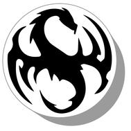 Фишки для нард из оргстекла Драконы #19