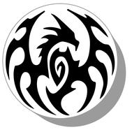 Фишки для нард из оргстекла Драконы #22