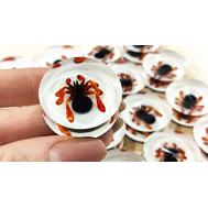 Фишки для нард из оргстекла пауки и скорпионы