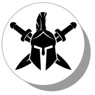 Фишки для нард из оргстекла Рыцарь #1