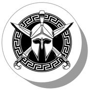 Фишки для нард из оргстекла Рыцарь #2