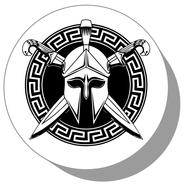 Фишки для нард из оргстекла Рыцарь #3