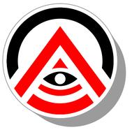 Фишки для нард из оргстекла Символ #1