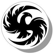 Фишки для нард из оргстекла Птица #1