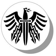 Фишки для нард из оргстекла Символ #4