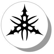 Фишки для нард из оргстекла Символ #6