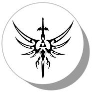 Фишки для нард из оргстекла Символ #7