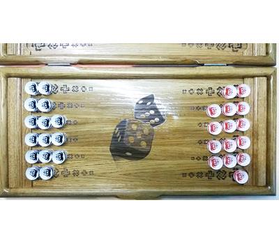 """Нарды из дуба """"Игра"""" купить в интернет-магазине Нардлайн"""
