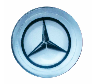 "Фишки для нард из оргстекла ""Мерседес ws BMW"""