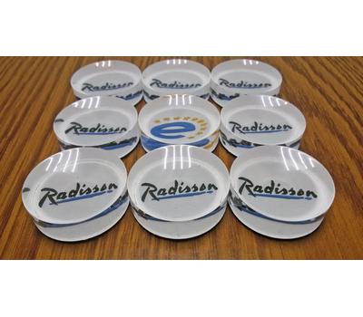 Фишки для нард из оргстекла Radisson