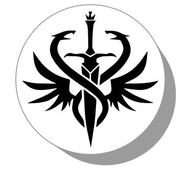 Фишки для нард из оргстекла Символ #3