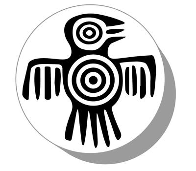 Фишки для нард из оргстекла Символ #2